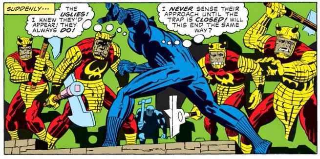 Best Black Panther Artists - Jack Kirby