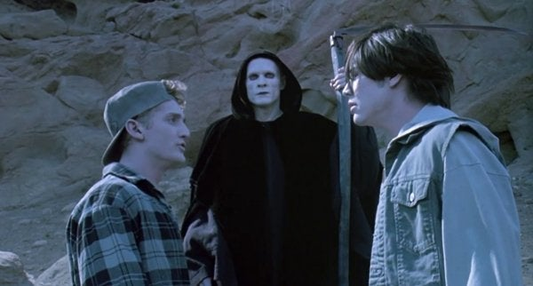 bill and ted bogus journey death