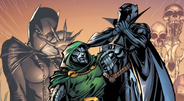 Black Panther Doctor Doom