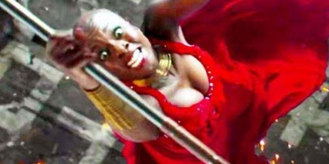 Black Panther Klaue vs Dora Milaje Fight Scene