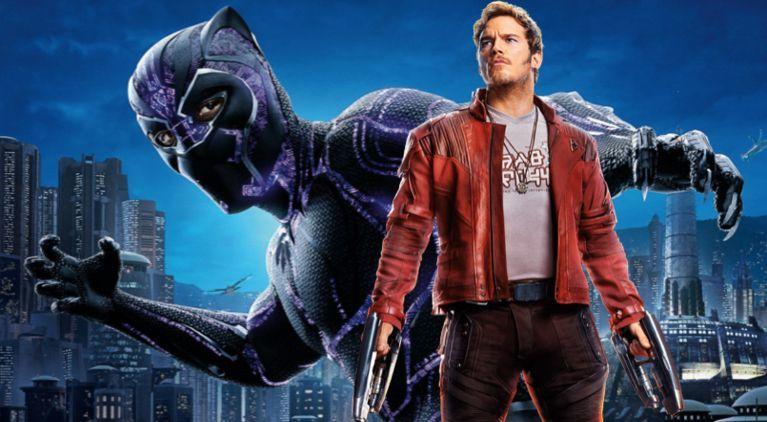 Black Panther Star Lord Chris Pratt comicbookcom
