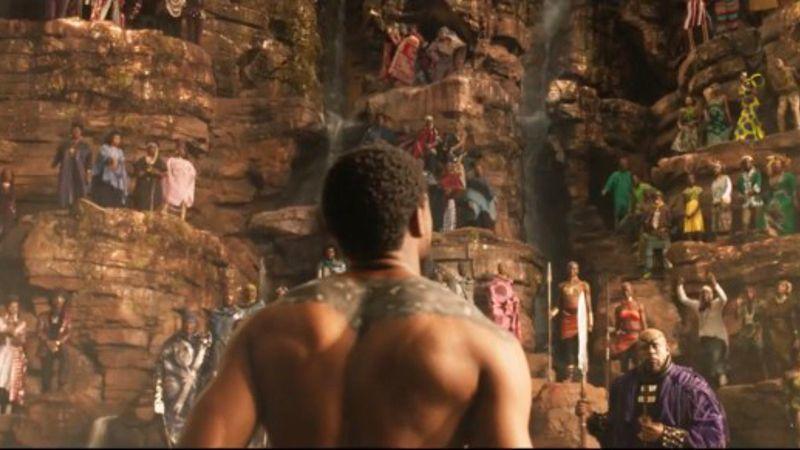 Black Panther Wakanda ritual