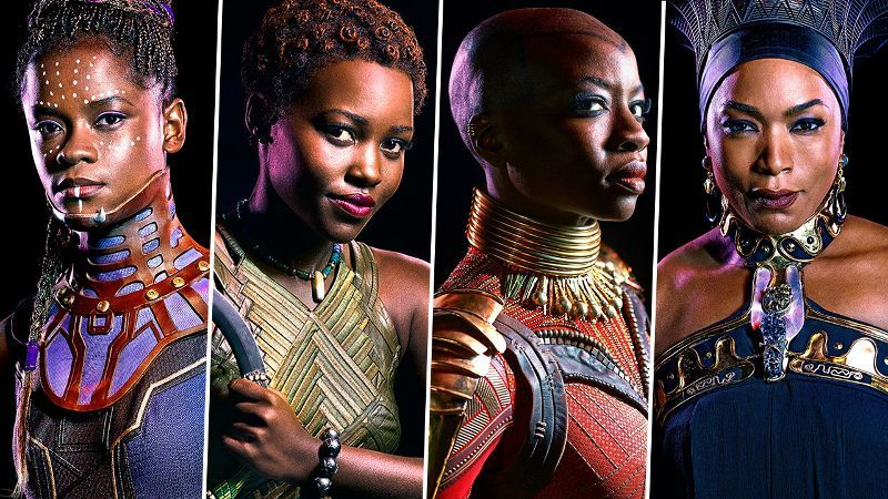 Black Panther Women Female Characters