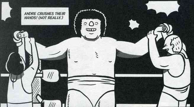 Box Brown Historian - Andre the Giant