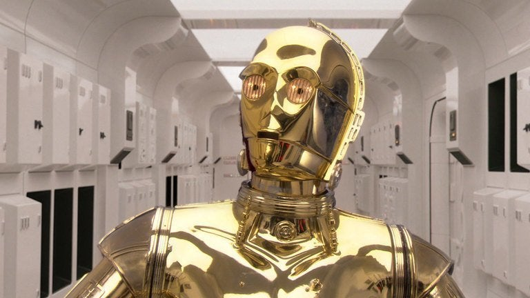 c 3po star wars opening anthony daniels