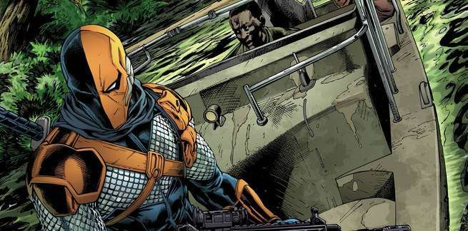 Christopher Priest Interview - 2 - Deathstroke