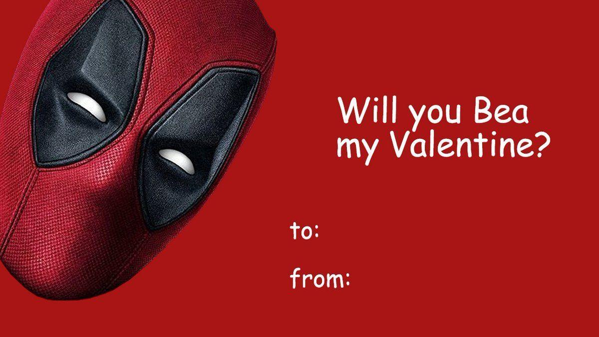 Deadpool Valentine's Day Cards - Deadpool