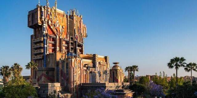 Disney California Adventure Guardians of the Galaxy Mission Breakout