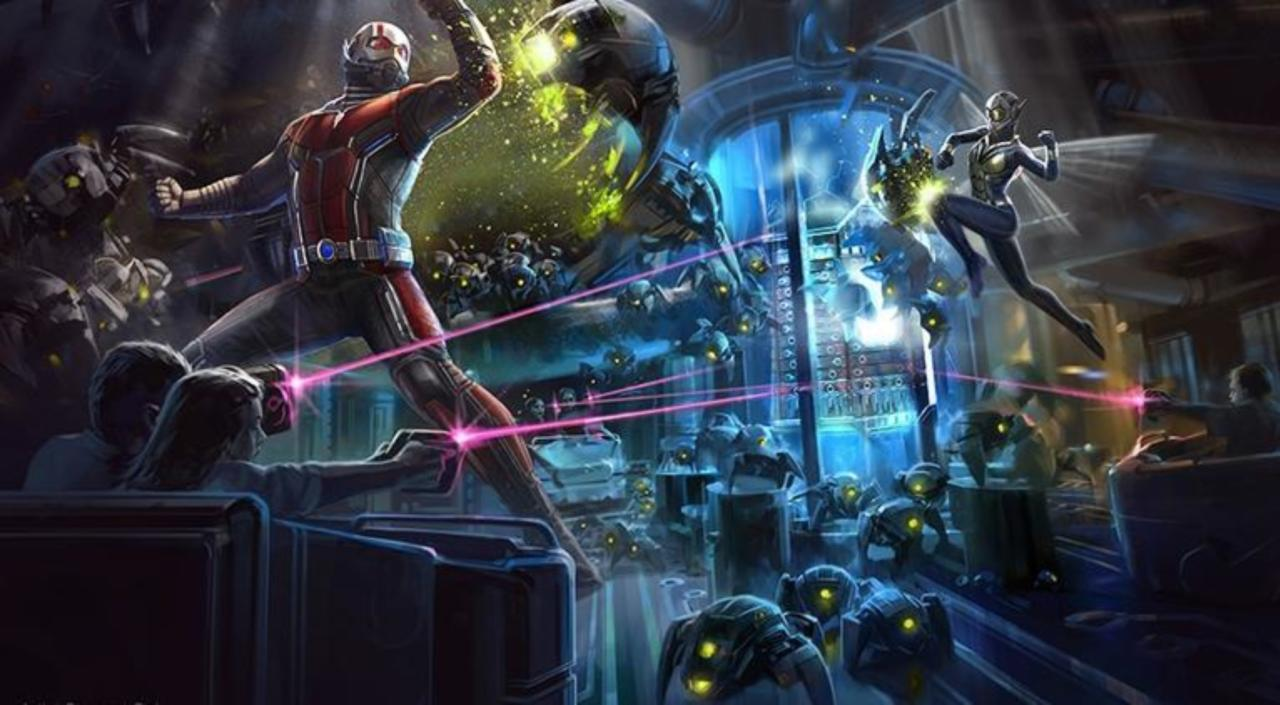 Details Of New Avengers Ant Man And The Wasp Rides Coming To Disney