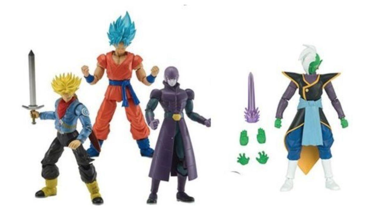 Dragon Ball Super Dragon Stars Series Super Saiyan Goku Vegeta Beerus Wave 1 Set