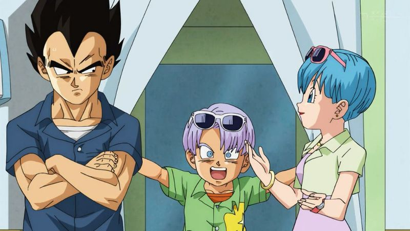 Dragon Ball Super Vegeta Family Man