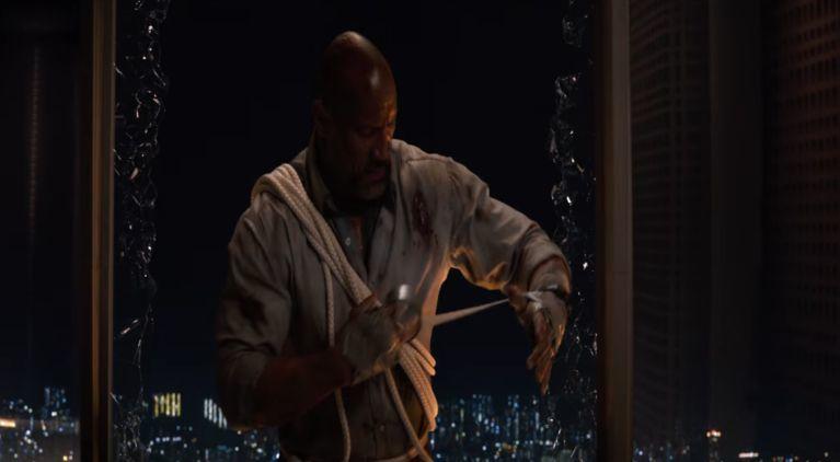 Dwayne Johnson Skyscraper