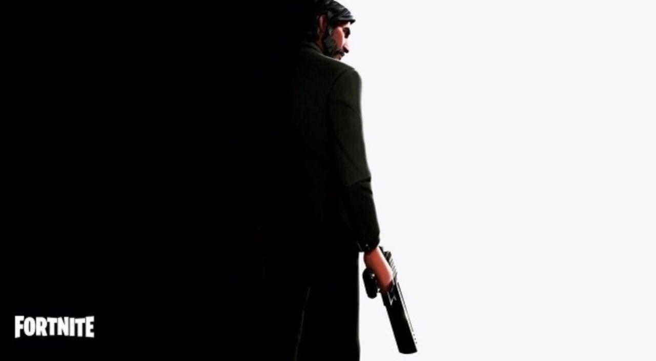 Fortnite Battle Royale Teasing John Wick Character Skin And New Weapon