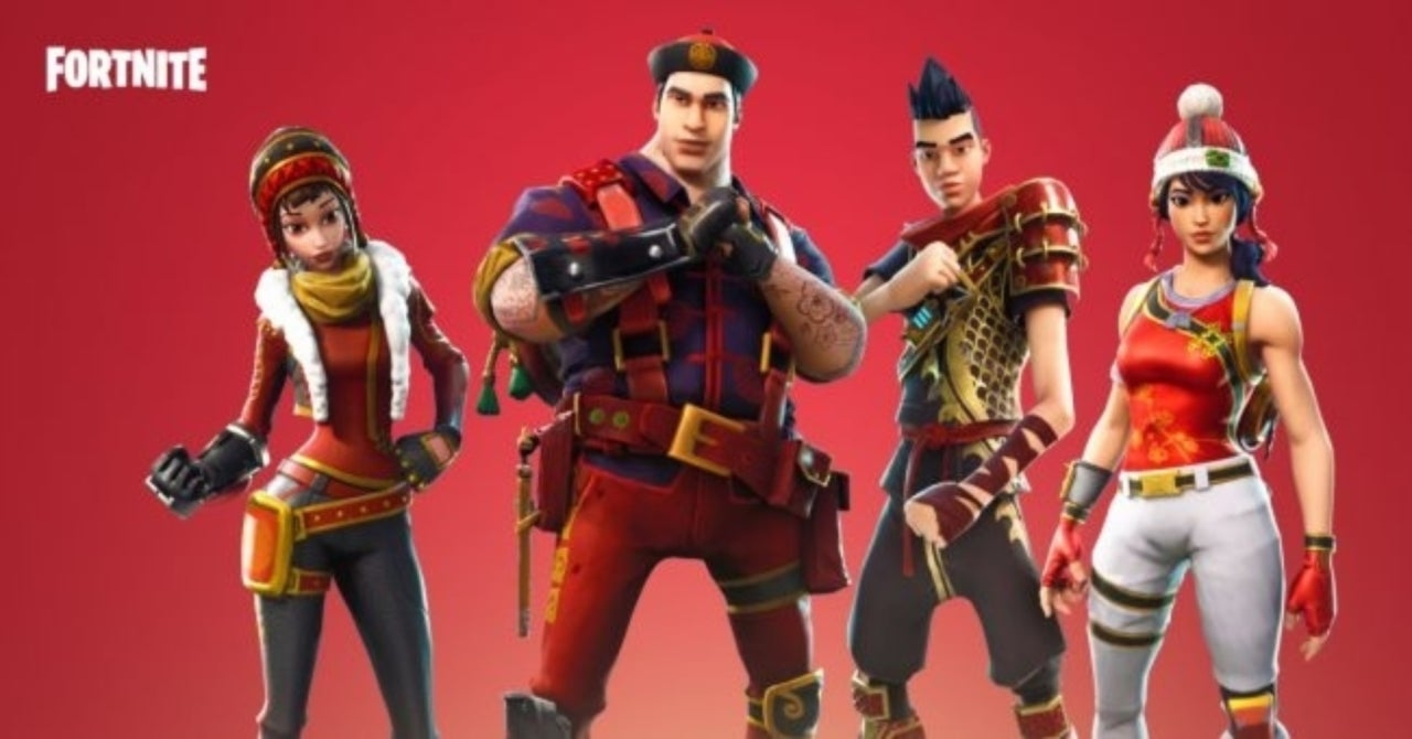 Major Fortnite Update Now Live: Lunar New Year Items, New Characters