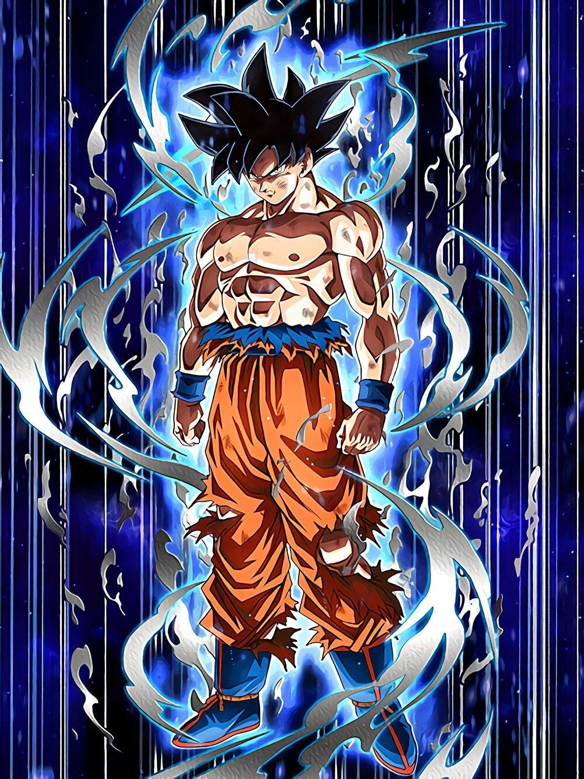 Fond D écran Dragon Ball Super Goku Ultra Instinct