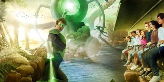 Green Lantern Galactic Odyssey-Justice-League-Rides