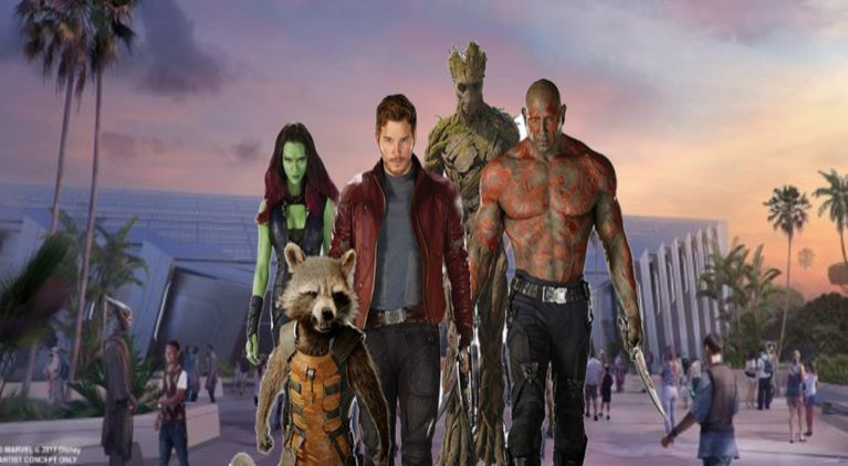 Guardians of the Galaxy Epcot comicbookcom