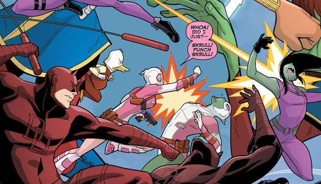 Gwenpool 25 Review - Skrulls