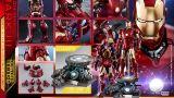 Hot Toys - Iron Man -  1_4 Mark III (Deluxe Version) Collectible Figure_PR26