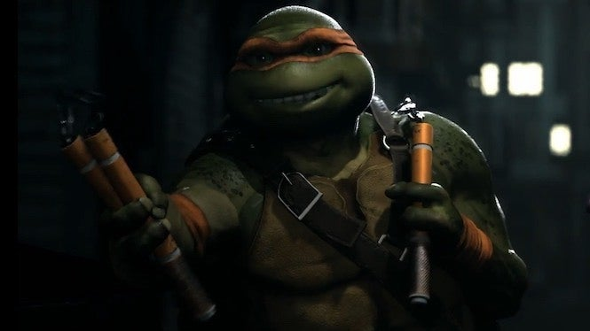 Injustice 2 Mikey