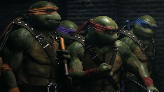 Injustice 2 Turtles