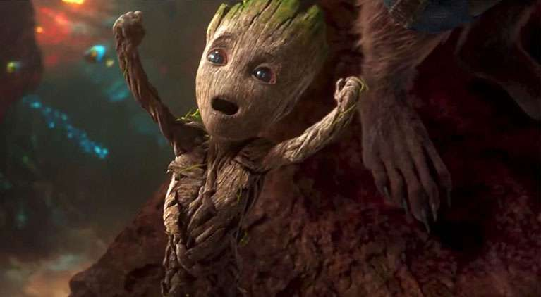 internet reacts groot death