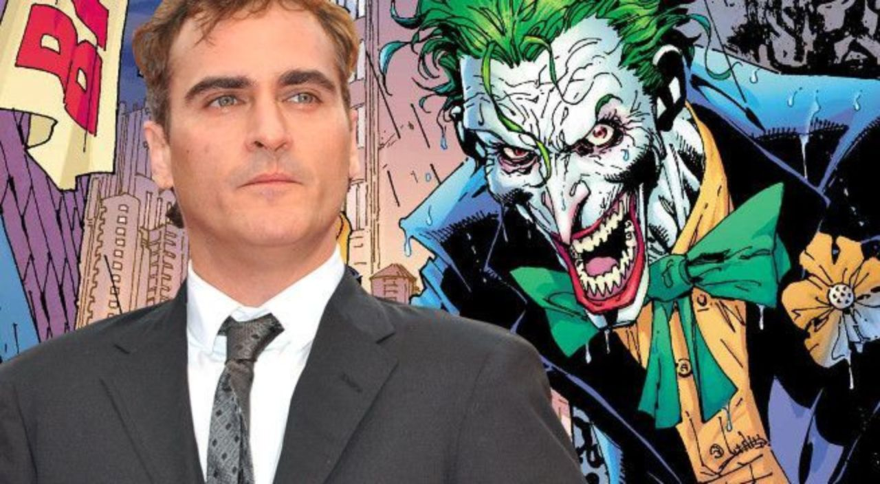 Joaquin Phoenix Flashes His Joker Grin Ahead Of The Film Beginning