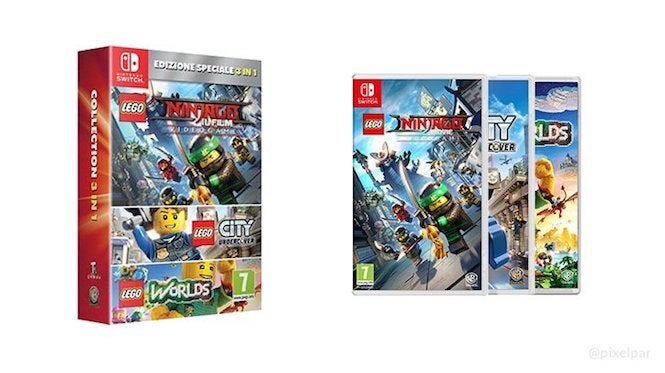 Lego Game Three Pack Being Prepared For Nintendo Switch