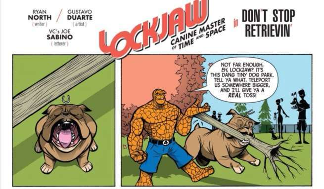 Lockjaw Comics - Lockjaw Is Funny