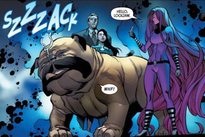 Lockjaw Comics - Lockjaw Upgrades The Inhumans