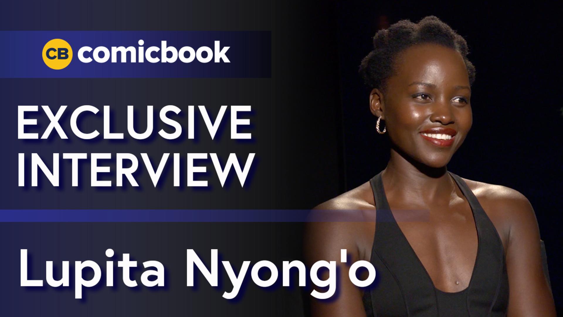 Lupita Nyong'o Talks the Black Panther screen capture