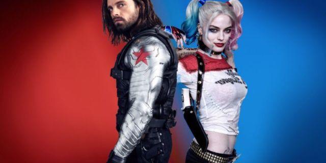Margot Robbie Sebastian Stan Marvel DC Comicbookcom