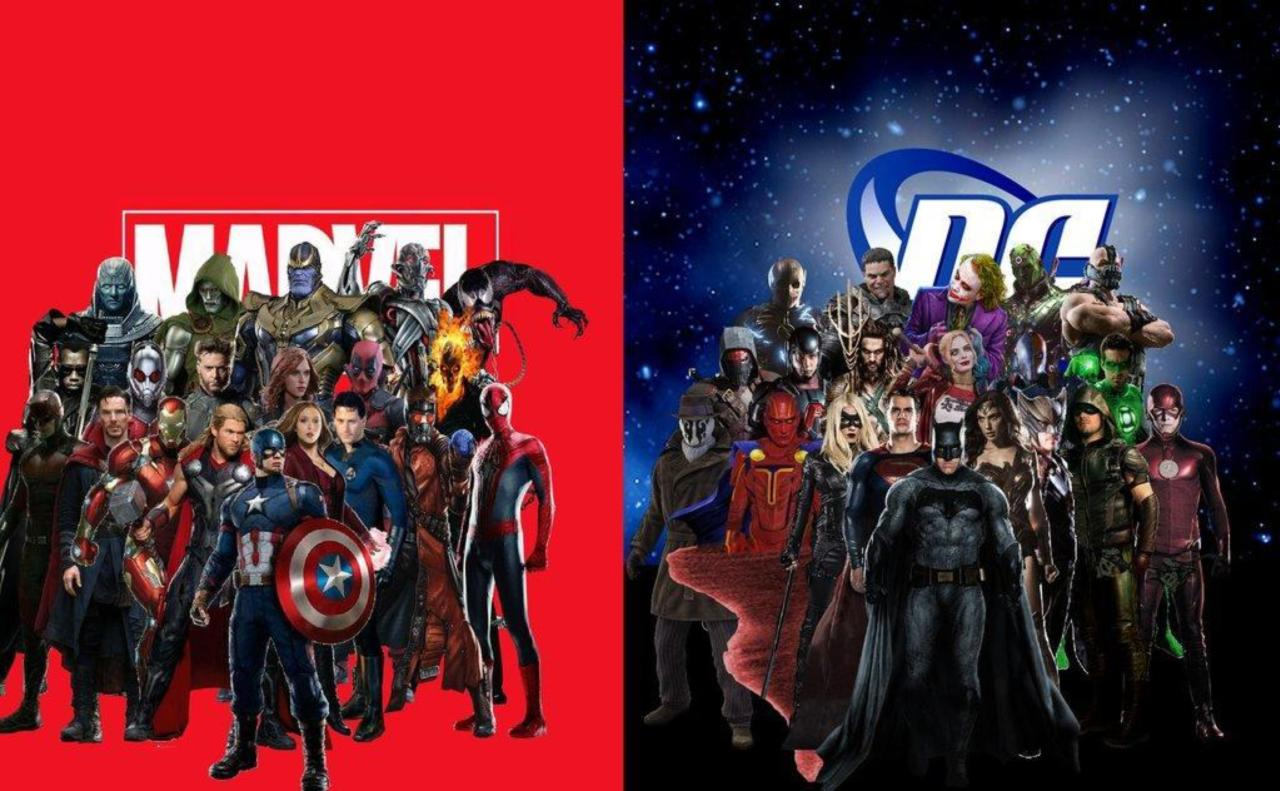 Marvel vs DC Is Trending on Twitter
