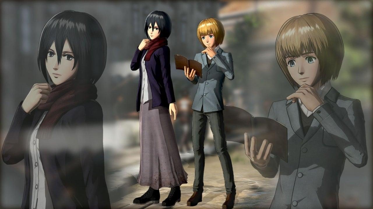 Mikasa-Armin-Plain-Clothes