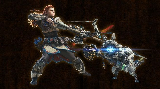 Monster Hunter World Horizon Zero Dawn