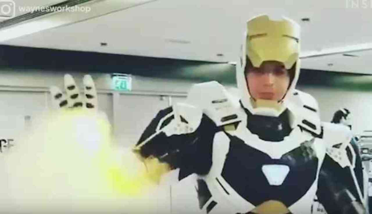 Master Cosplayer Makes Working Iron Man Suit