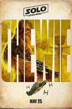 solo poster chewie