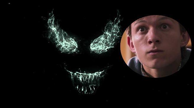 Sony Trolls Marvel Fans Over Spider-Man Tom Holland Venom Cameo
