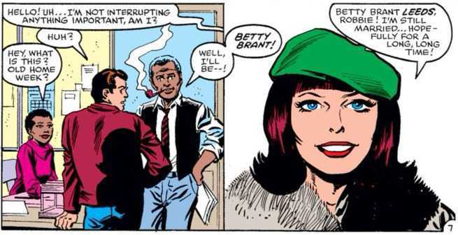 Spider-Man Supporting Cast - Betty Brant