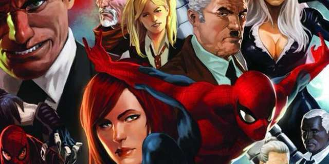 Spider-Man Supporting Cast - Cover