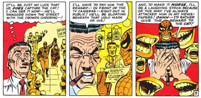 Spider-Man Supporting Cast - J Jonah Jameson