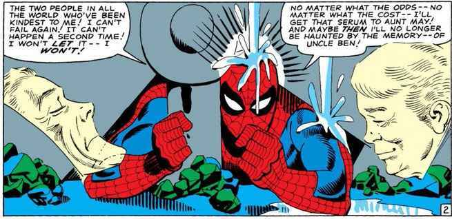Spider-Man Supporting Cast - Uncle Ben