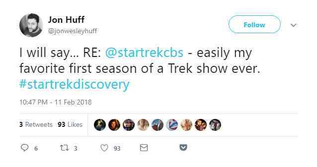 Star Trek DIscovery Finale Fan Reactions