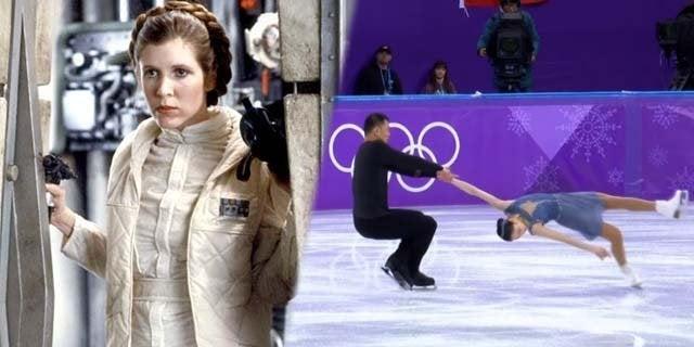 star wars figure skating olympics