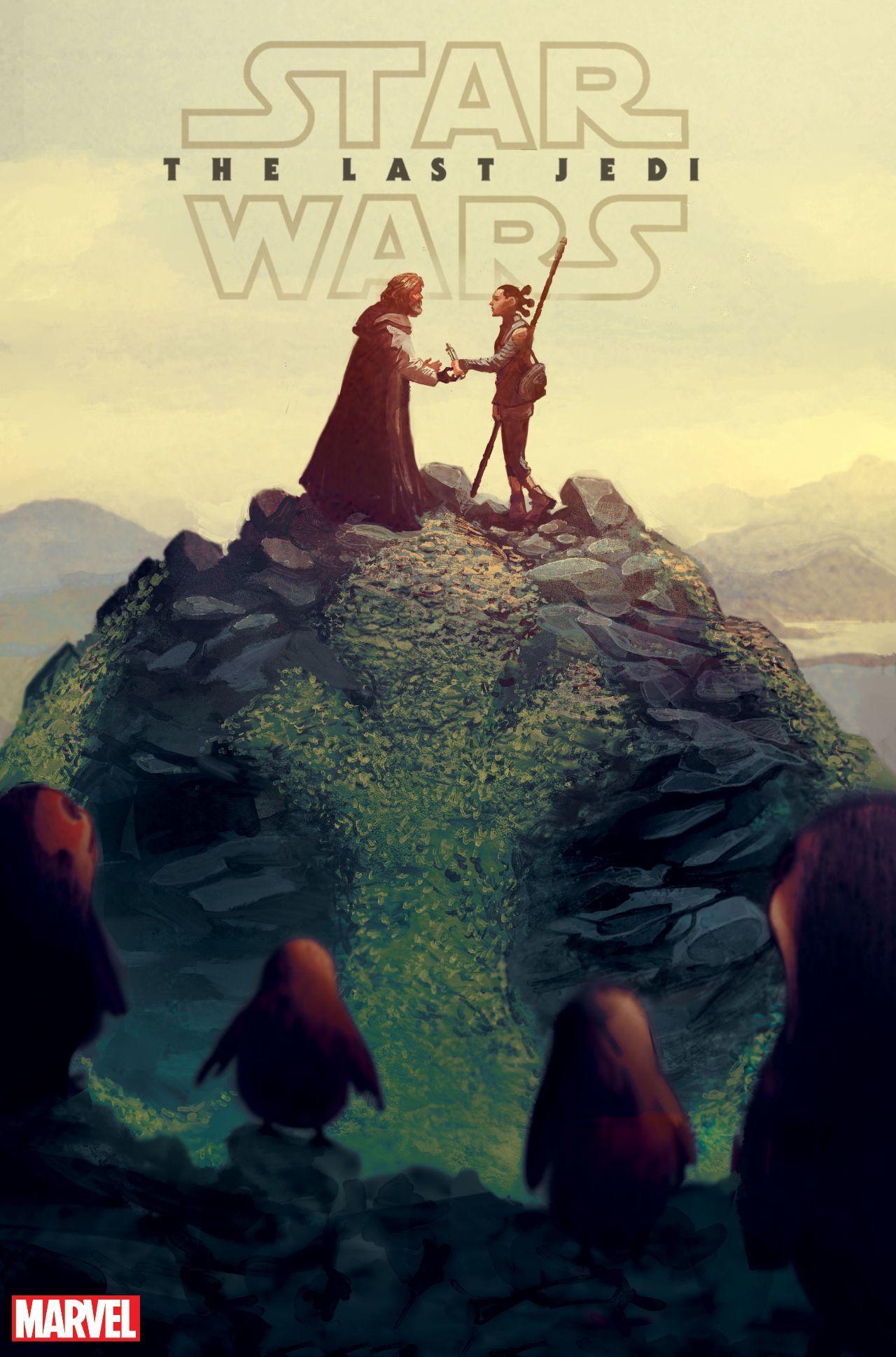 Star Wars The Last Jedi Adaptation Cover #1
