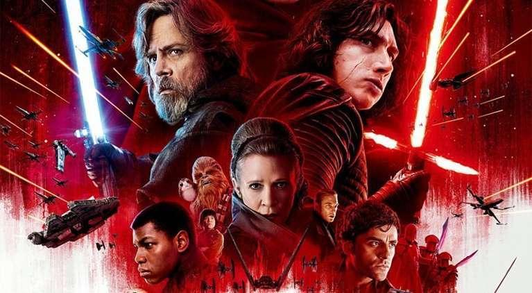 Star Wars the Last Jedi blu ray