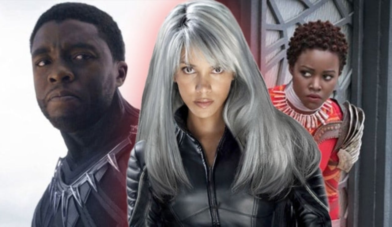 Chadwick Boseman Lupita Nyong O Feud Over X Men S Storm In Black Panther Sequel