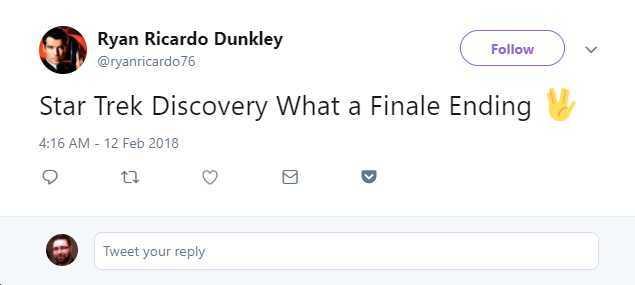 Str Trek Discovery finale fans reactions