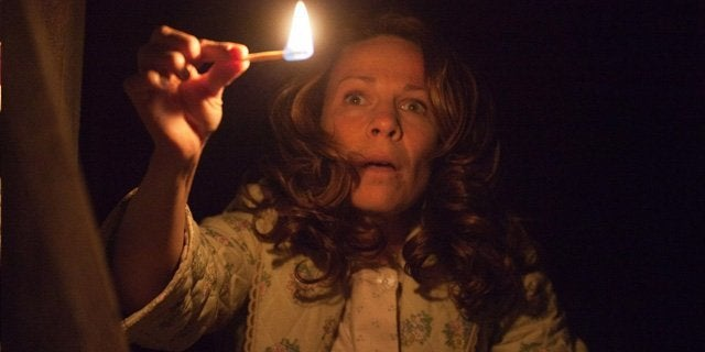 the conjuring movie lili taylor clapping