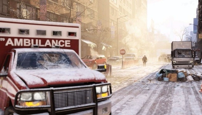 the division screen